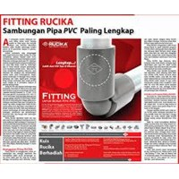 Distributor Pipa & Fitting PVC Rucika 3