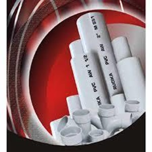 PVC Pipe and Fittings Rucika