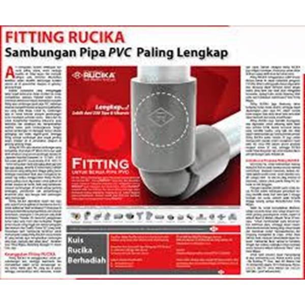 Pipa dan Fitting PVC Rucika