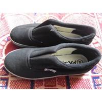 Sepatu Px Style 128 Hitam Model Karet Tengah 1