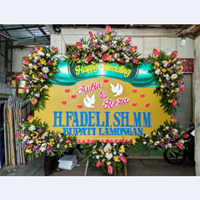 Flowerboard Sterofoam Happy Wedding 2.5 Meter