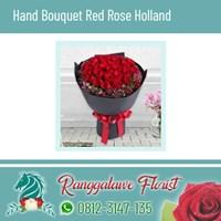 Hand Bouquet Mawar Merah Holland