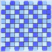 Keramik Mozaik Cascara Dark Blue