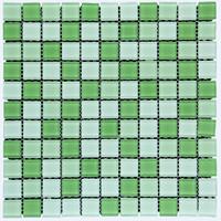 Keramik Mozaik Cascara Green Leaf
