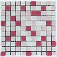 Keramik Mozaik Cascara Pink White