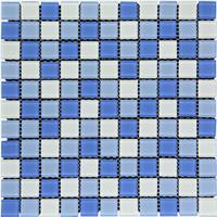 Keramik Mozaik Cascara White Blue