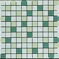 Keramik Mozaik Cascara White Green
