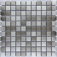 Ceramic Silver Deluxe Mosaic
