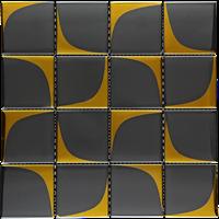 Keramik Mozaik  Toscana Of Gold Black