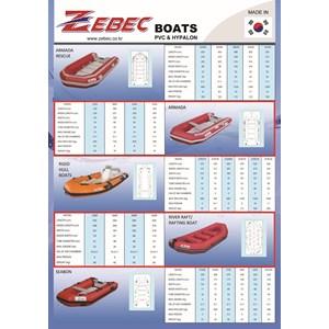 Perahu Karet Zebec Madein Korea Kap 8 Person 420 Armada