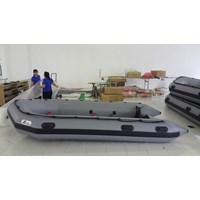Perahu Karet Hypallon 420 Untuk Milliter Rescue Dan Olahraga Air