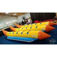 Jual Banana Boat Zebec Korea Kapasitas 5 Orang Perekatan Hot Welding System