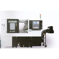 Mesin Bubut CNC Ecoca Tipe SL-6 MC 1