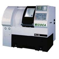 Mesin Bubut CNC Ecoca SJ-20 MC 1