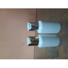 Botol tubular 70ml tutup gold/silver