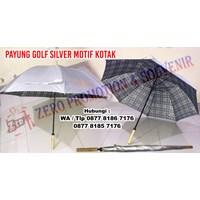 Payung Promosi Motif Kotak - Payung Jumbo Golf 1