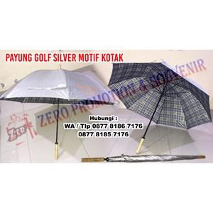 Payung Promosi Motif Kotak - Payung Jumbo Golf