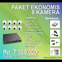 Jual Promo Paket Cctv 8 Channel Ekonomis Berkualitas