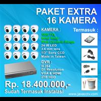Promo Paket Cctv 16 Channel Xtra High Resolution ( 1000 Tvl) 1