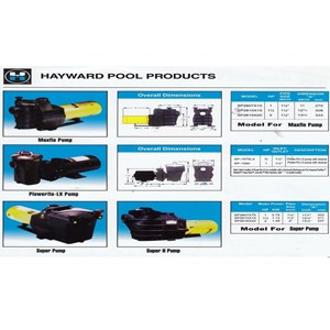 Pompa Air & Filter Kolam Renang Hayward