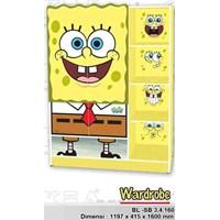 Jual Lemari Anak Spongebob