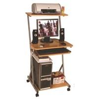 Jual Meja Komputer Grace - 703 Brown