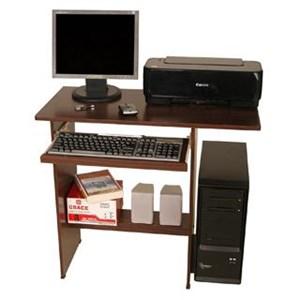 Meja Komputer Grace - 802C Beech Red