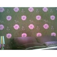 Wallpaper Motif Bunga Murah 5