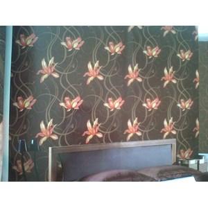 Wallpaper Motif Bunga