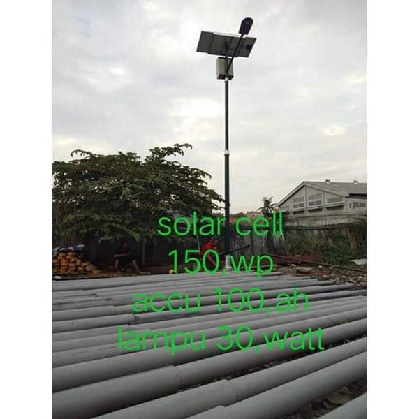 Light Pole Solarcell
