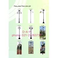 Tiang Lampu Solarcell Taman