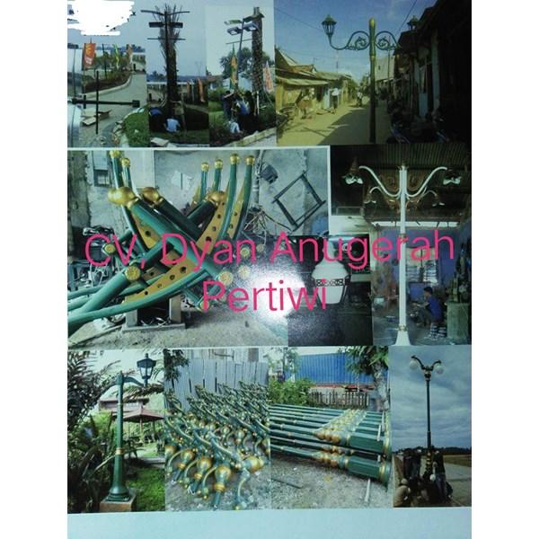 Tiang Lampu Taman 49
