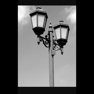 Tiang Lampu Antik 05