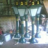 Tiang Lampu Taman Mini
