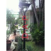 Tiang Lampu Taman Rumah