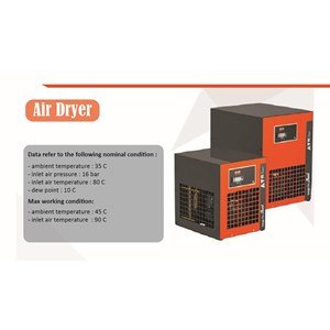 Refrigrant Air Dryer DTG 5 HT Shark kompresor angin
