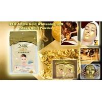 Pemutih Dan Pelembab 24K Active Gold Whitening  1