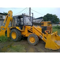 Distributor Backhoe Loader Bekas Jcb 3Cx '01 Build Up Transmisi 4X4 Arm Telescopic 3