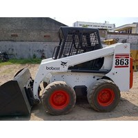 Jual Skid Steer Loader  Mini Loader Bobcat 863 G Kapasitas 0.8 M3 2