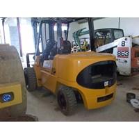 Distributor Forklift Caterpillar Mitsubishi Kapasitas 4.5 Ton Tahun 2008 Tinggi Boom 5 Meter 3
