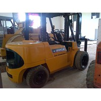 Forklift Caterpillar Mitsubishi Kapasitas 4.5 Ton Tahun 2008 Tinggi Boom 5 Meter 1