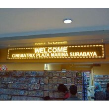 Running Text Led Display (Tulisan Berjalan)
