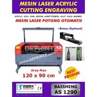 Jual Mesin LASER CUTTING Acrylic AS 1290 (+Rotary Optional)