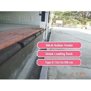 Karet Bumper Gudang Loading Dock