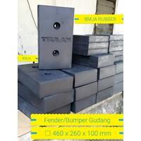 Custom rubber loading dock pads