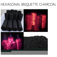 Hexagonal Barbecue Charcoal 1