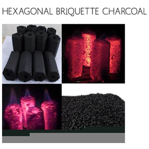 Export Hexagonal Barbecue Charcoal Indonesia