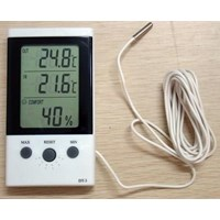 Indoor Outdoor Thermometer Higrometer Dt-3 1