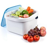 Ultrasonic Cleaner And Ozone Vegetable & Fruit Sterilizer  12.8L Kd-6002