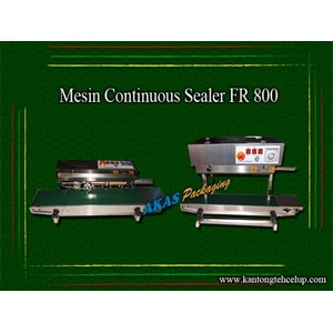 Mesin Continuous Sealer Fr 800Ii